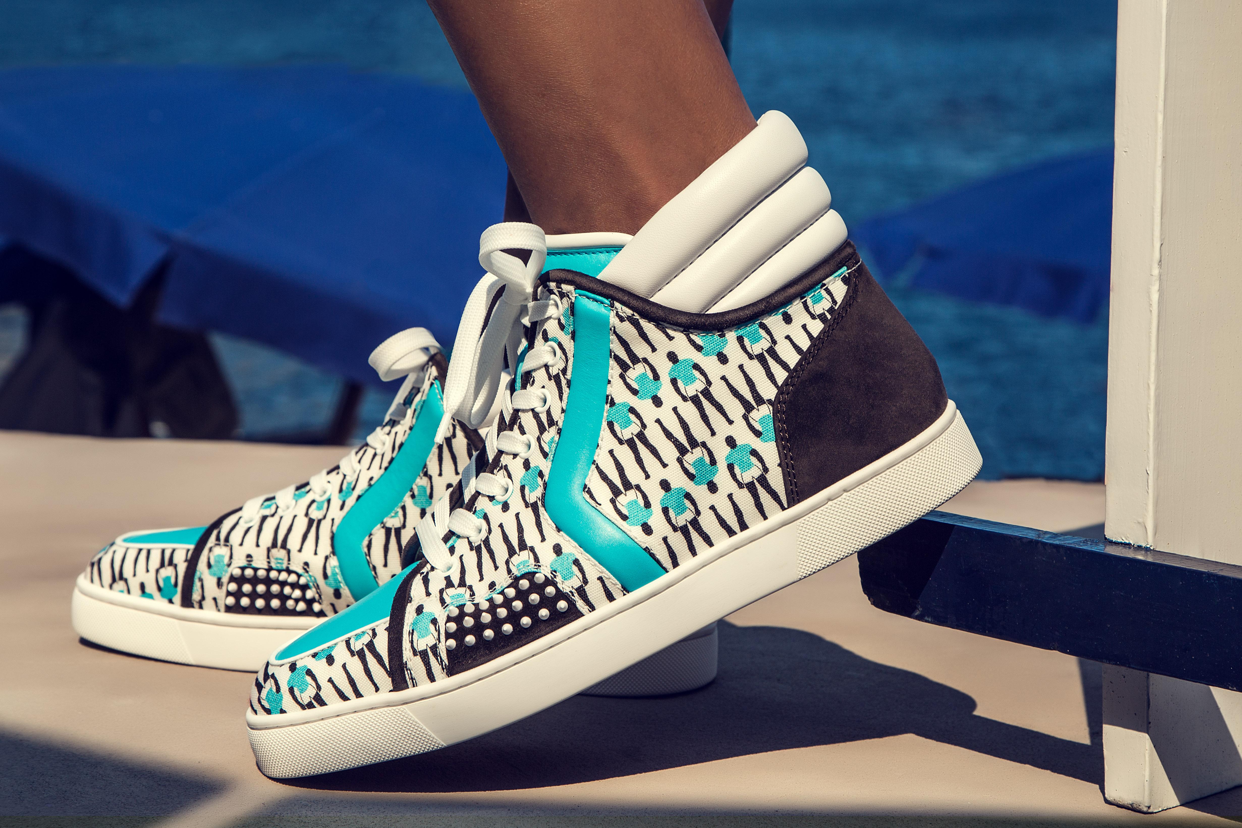 5cd5e8b83c4 Louboutin lancia una collezione di sneakers in esclusiva per SportyHenri