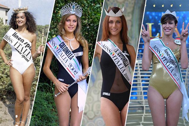 Costumi Da Bagno Anni 80 : Tutti i costumi di miss italia: i look dai primi anni del concorso