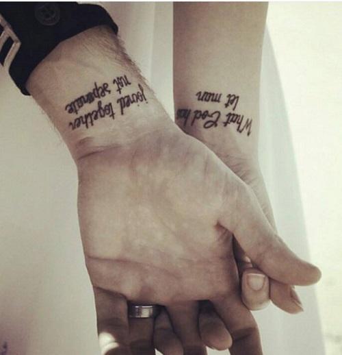 Tatuaggi di coppia le idee pi originali da realizzare for Ka che vintage look