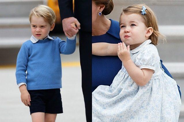 George e Charlotte alla conquista del Canada: i principini rubano la scena a mamma Kate