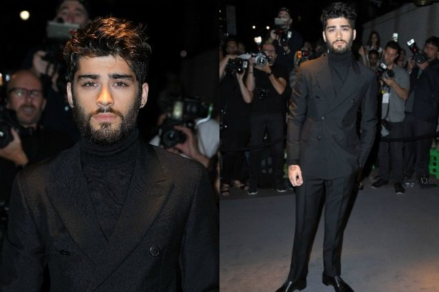 Capelli spettinati e barba lunga: Zayn Malik ha cambiato look