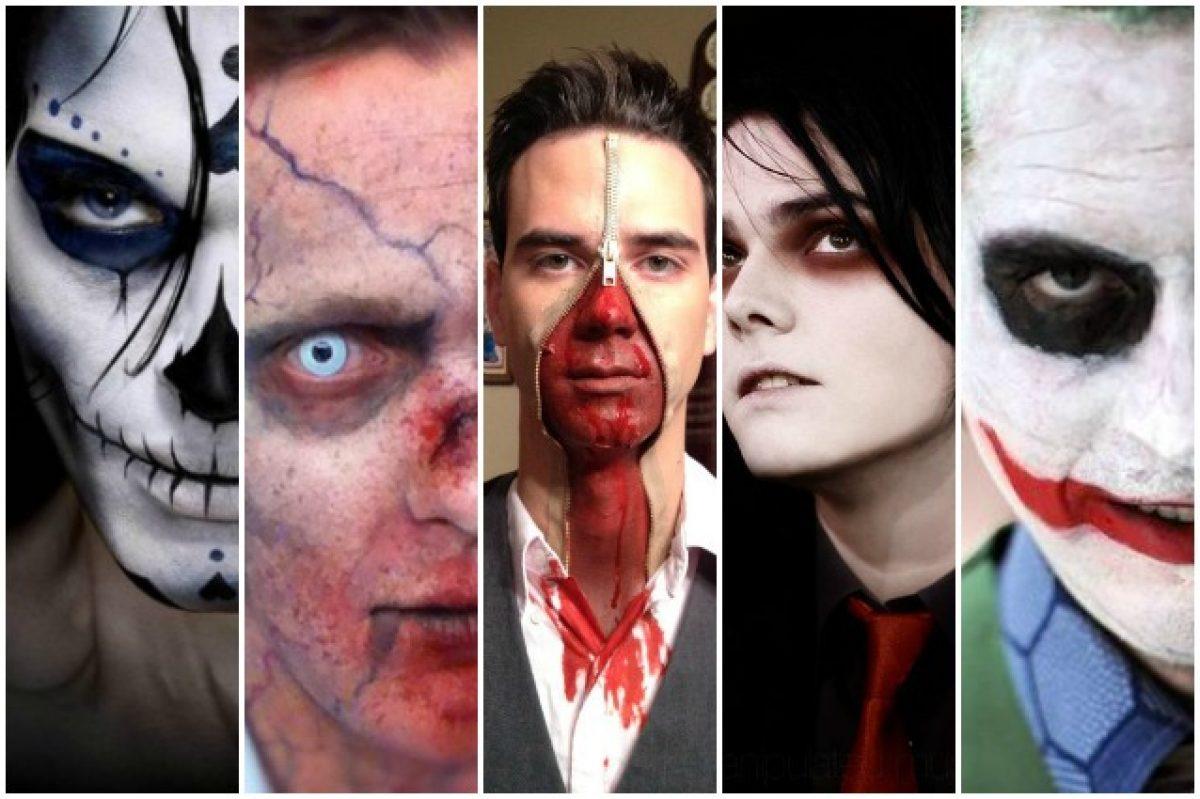 Trucco Halloween Vampiro Uomo.Trucco Di Halloween Da Uomo Idee Make Up Da Copiare