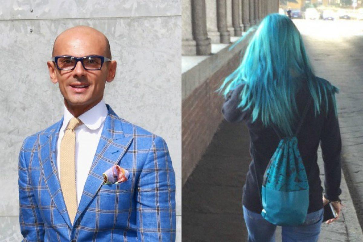 e9b61dcb83d4 Non ha classe  il web contro Enzo Miccio dopo la critica alla ragazza dai  capelli blu