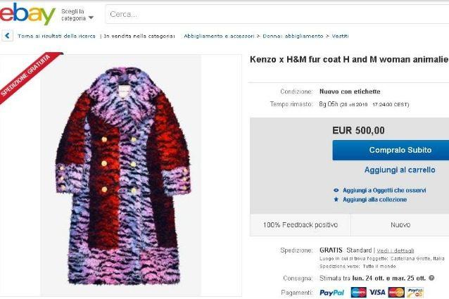 Kenzo x H&M: la collezione è già su eBay ma a prezzi esorbitanti