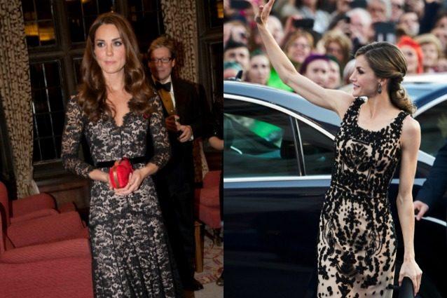 Kate Middleton Vs. Letizia di Spagna: chi è la più elegante?