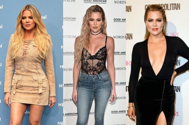 Con l'assenza di Kim ci pensa Khloe: la Kardashian sfoggia abiti attillati e look sexy