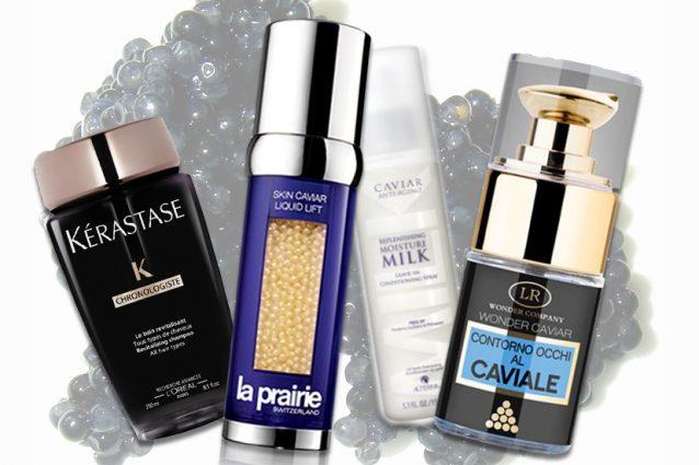 Creme, maschere e shampoo al caviale: un nuovo alleato di lusso per la tua bellezza