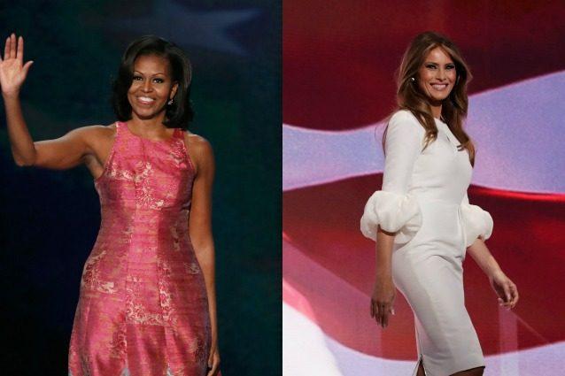 Michelle Obama Vs. Melania Trump: lo stile da First Lady a confronto