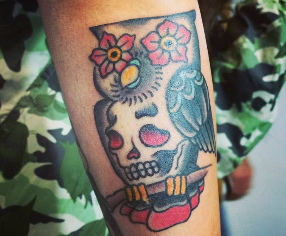 Molto Tatuaggi con gufo significati e idee con foto TA57