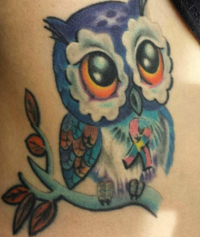 Famoso Tatuaggi con gufo significati e idee con foto FY68
