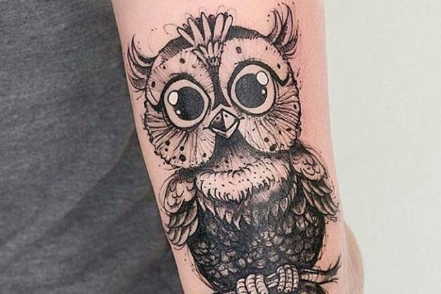 Favorito Tatuaggi con gufo significati e idee con foto KX98