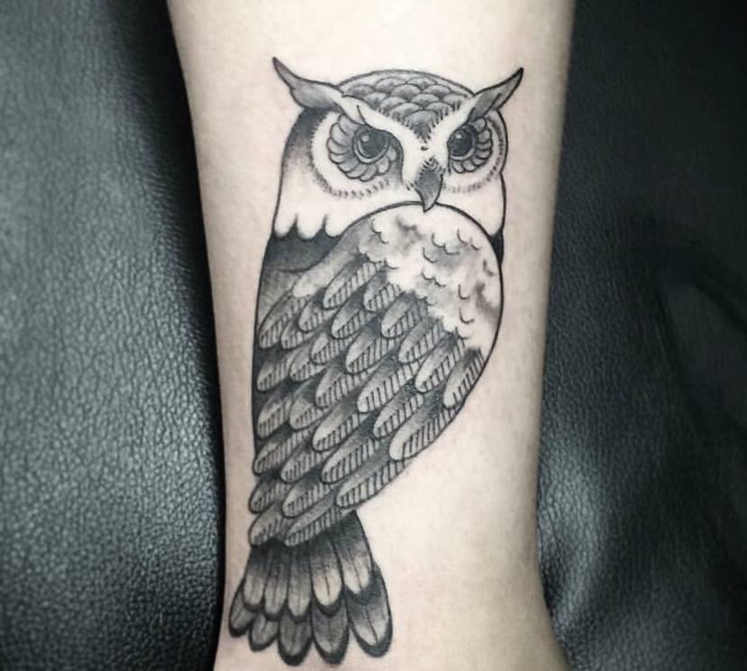Favorito Tatuaggi con gufo significati e idee con foto CT32