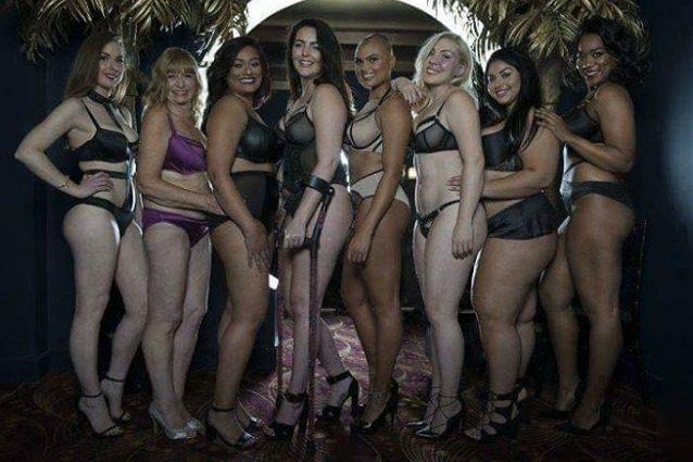 La bellezza della diversità: disabili, curvy e anziane diventano modelle di lingerie