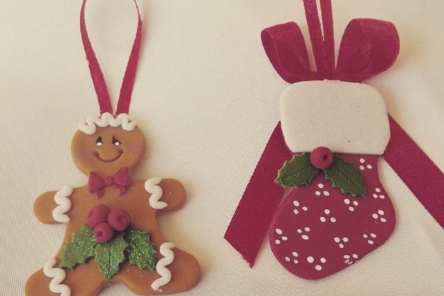 Fabuleux Decorazioni natalizie con la pasta di mais idee per addobbi e  SN13