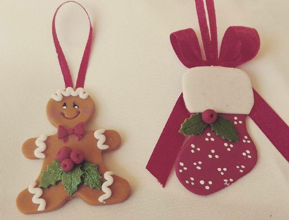 decorazioni natalizie con la pasta di mais idee per