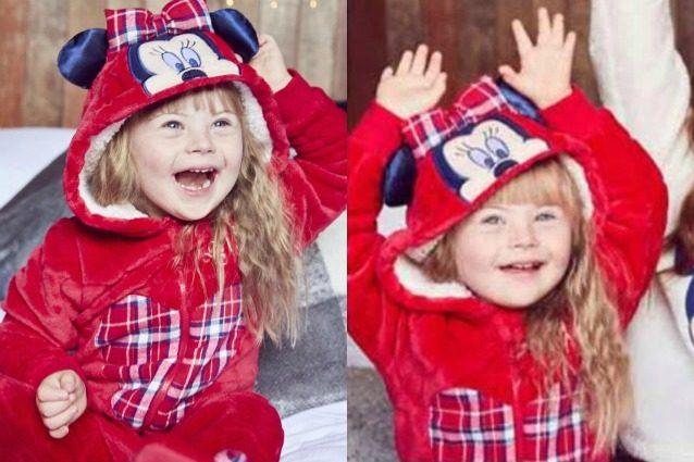 Rosie, la bimba di 4 anni affetta dalla sindrome di Down che diventa modella
