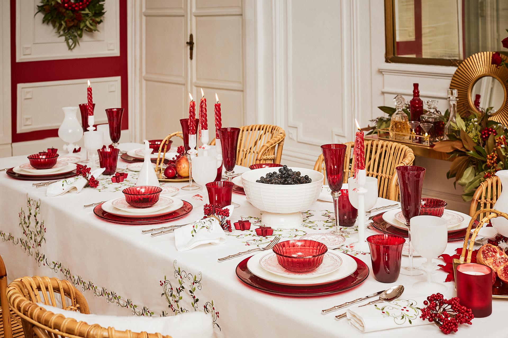 Come apparecchiare la tavola di natale le idee pi for Decorazioni da tavolo natalizie