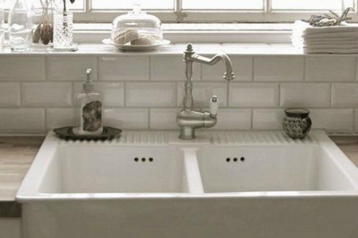 Lavello Cucina In Porcellana come eliminare il calcare dal lavandino con efficaci rimedi