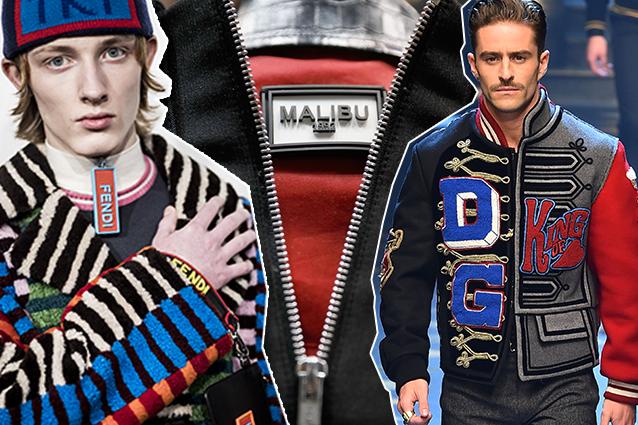 da sinistra: Fendi, Malibu 1992, Dolce e Gabbana