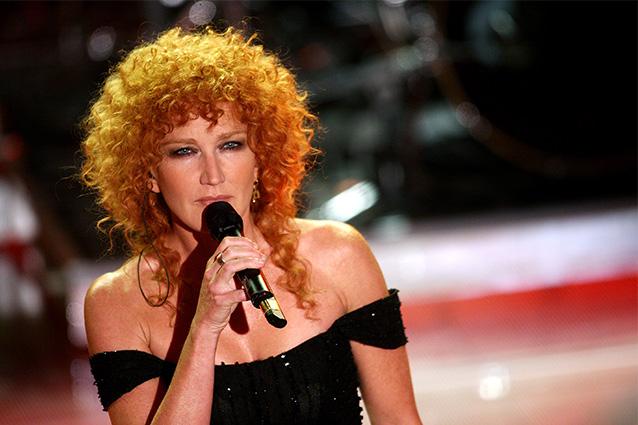 Ricci e rossi: Fiorella Mannoia è la sola cantante a non ...
