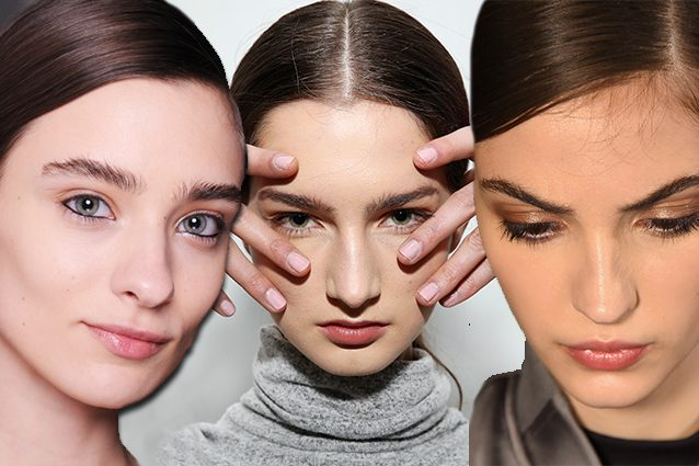 Il make up per l'autunno 2017 è naturale: le tendenze dalle sfilate di New York