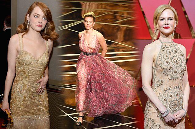 Gli abiti degli Oscar 2017? Non ci hanno fatto sognare