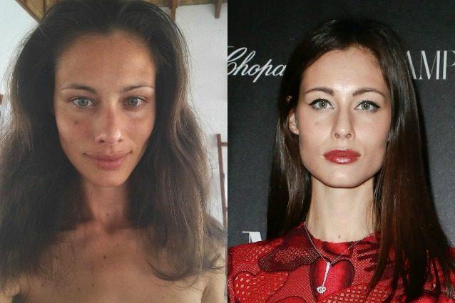 Marica Pellegrinelli senza trucco: la modella è bellissima anche al naturale