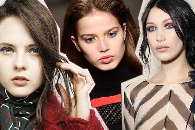 Milano Fashion Week: make up a tutto colore per l'autunno 2017