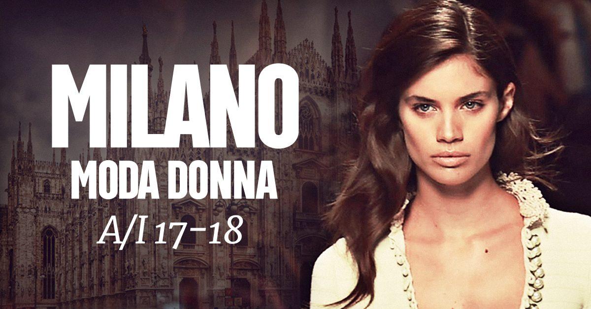 f8a709b85c29 Milano Moda Donna Autunno/Inverno 2017-18 | Donna Fanpage