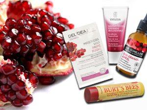 Tutti i prodotti beauty e i rimedi di bellezza a base di melograno
