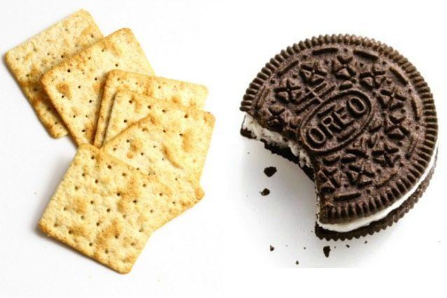 Ecco perché i cracker hanno i fori e gli Oreo i disegni sul biscotto