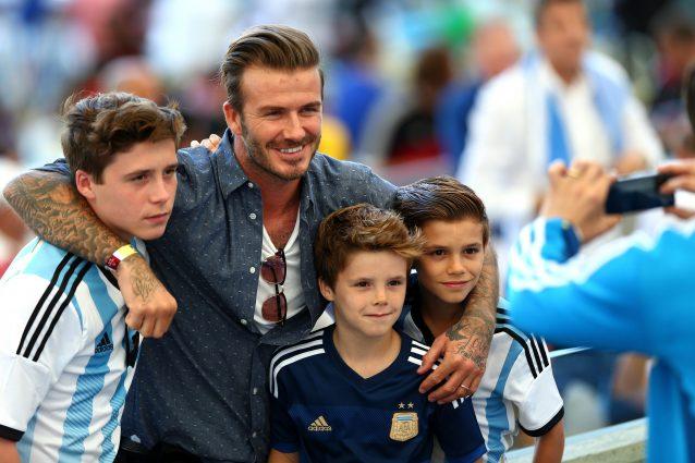 Bello, sexy e ama trascorrere il tempo con i figli: David Beckham è il papà perfetto