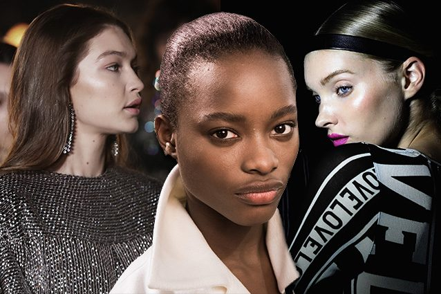 Paris Fashion Week- lincarnato dell autunno 2017 e glow e luminoso