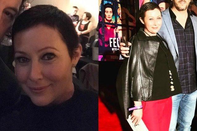 Capelli corti e sorriso smagliante: Shannen Doherty torna splendere dopo la chemio