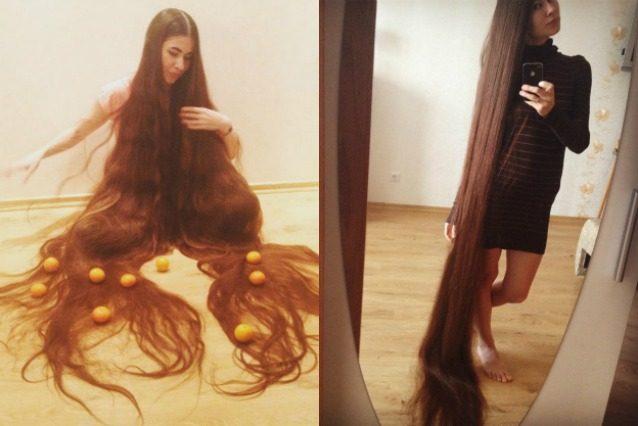 Le donne coi capelli lunghi