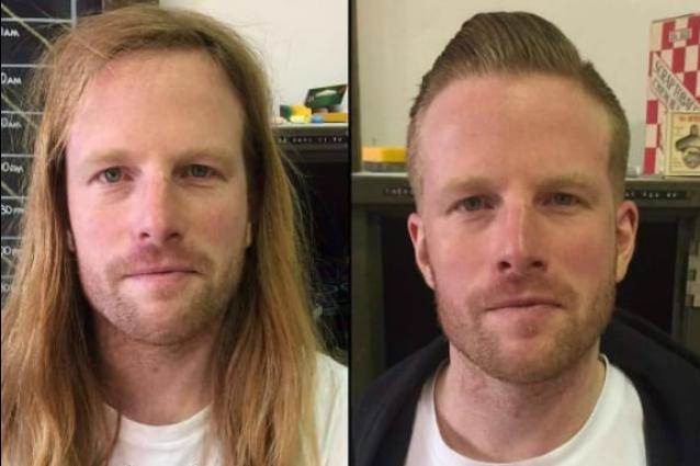 Tagliano capelli e barba e cambiano aspetto: le trasformazioni maschili più impressionanti
