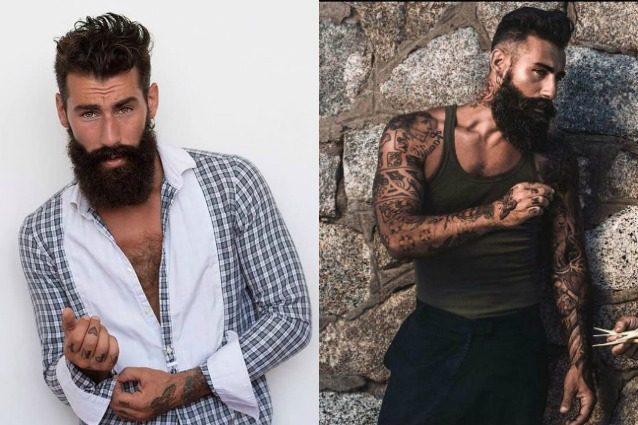 Barba da hipster e tatuaggi: Gianluca Di Sotto, il modello che piace a donne e uomini