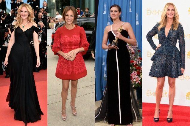 Julia Roberts, i 10 look iconici della donna più bella del mondo