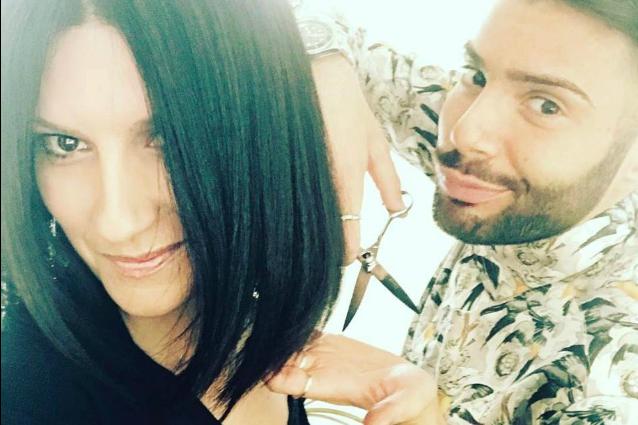 Laura Pausini ci dà un taglio: il nuovo look della cantante