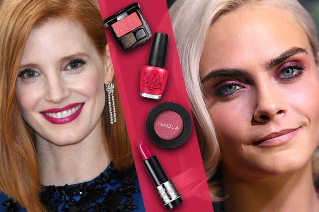 Make up lampone: il colore del momento per il trucco