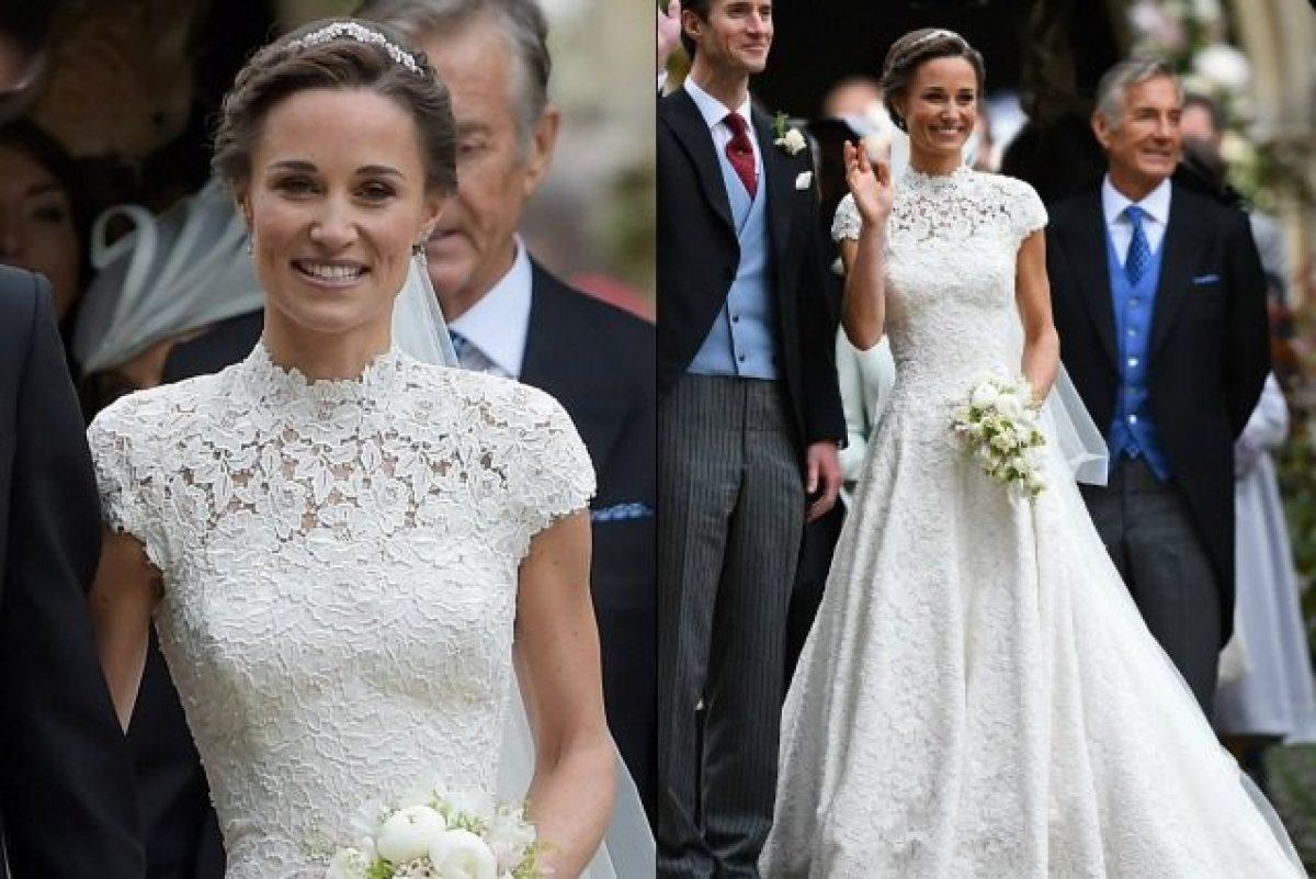 c0c3726ac5 L'abito da sposa di Pippa Middleton, tutto quello che (forse) ancora non sai