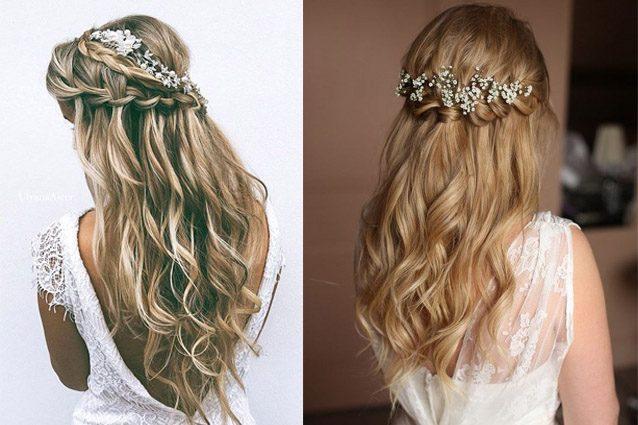 Waterfall braid, l'acconciatura per la sposa 2017: prova la treccia a cascata