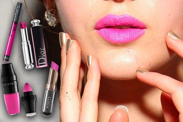 Bubblegum lipstick, il rossetto anni '80 che fa tendenza