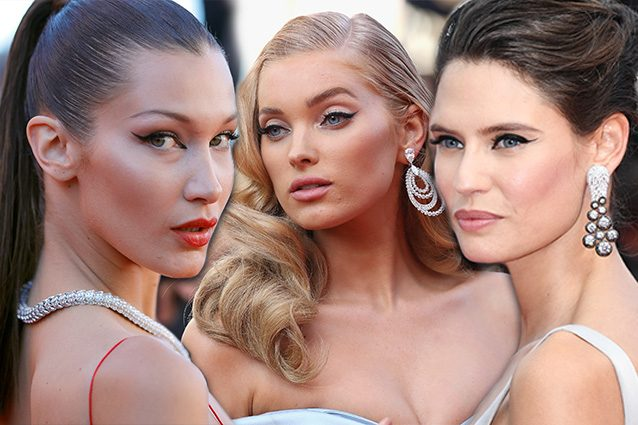Il ritorno del cat eye: a Cannes tutte con l'eye liner