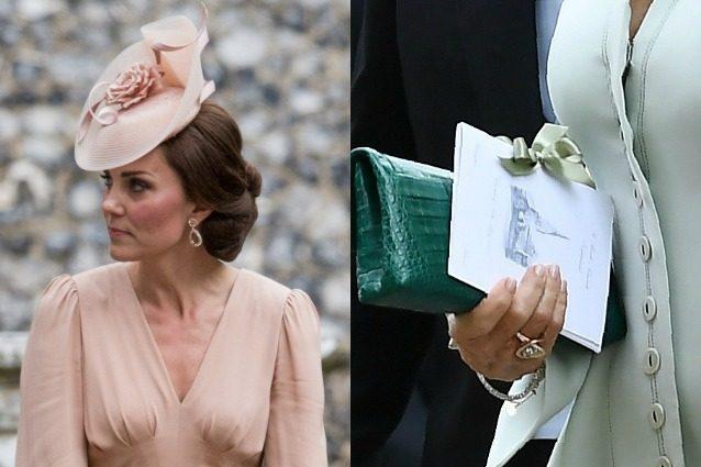 Kate Middleton nelle vesti di artista: disegna il libretto della messa alle nozze di Pippa