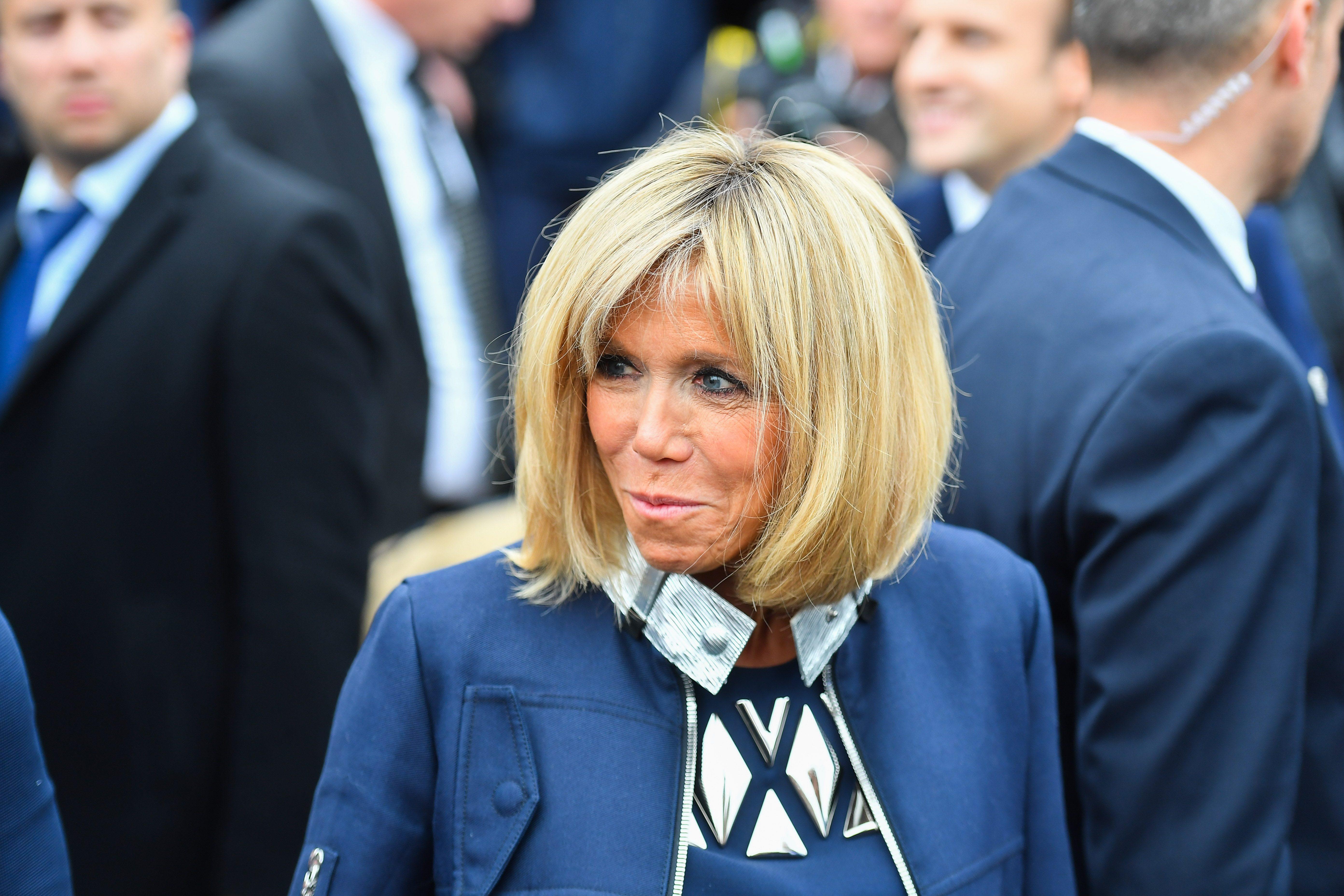 Brigitte trogneux la premi re dame 8 cose che non sai - Video marito porta la moglie a scopare ...