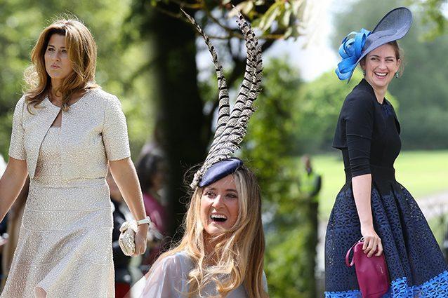 Il matrimonio di Pippa: ma quanto erano vestiti male gli invitati?