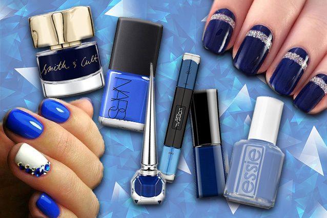 Manicure di tendenza con lo smalto blu: dai un tocco di colore alle tue unghie!