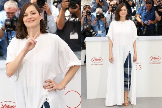 Marion Cotillard in forma a Cannes dopo il parto ma nasconde ancora la pancia