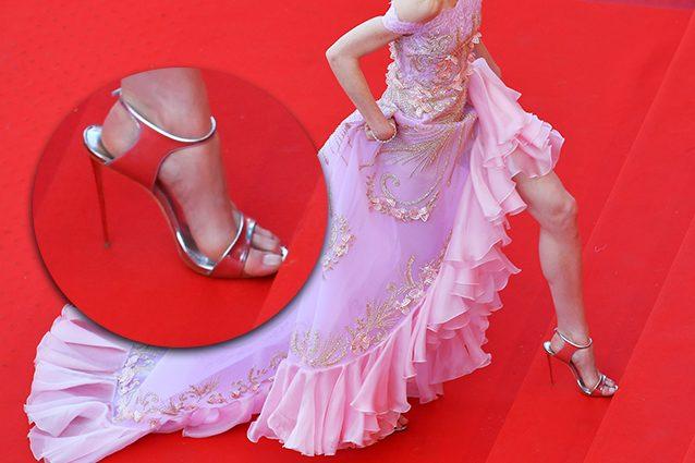 Perché Sul Le Carpet Star Red Larghe Scarpe Indossano Troppo gwqTU1